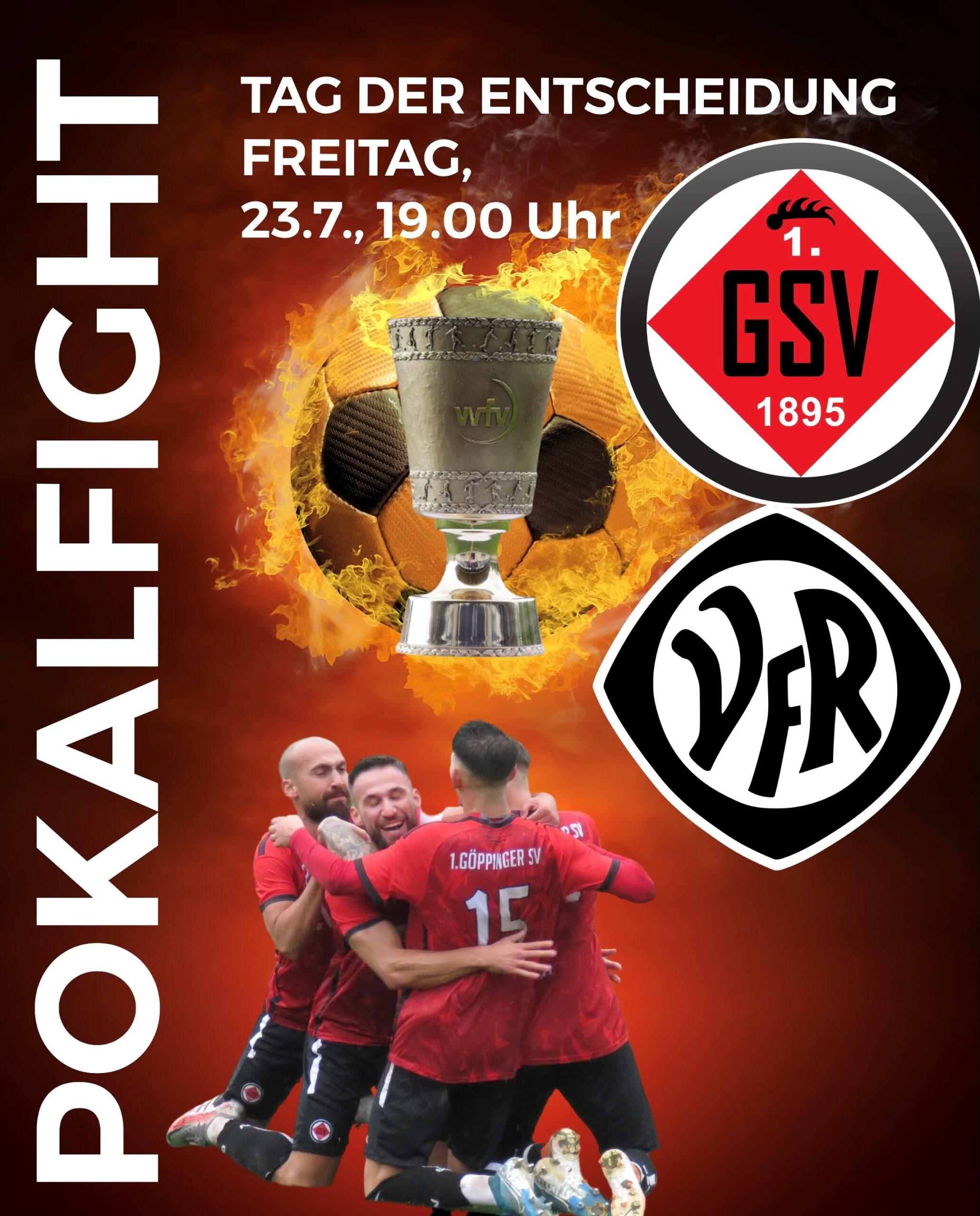 Ticket Pokal 1. GSV Göppingen vs VfR Aalen
