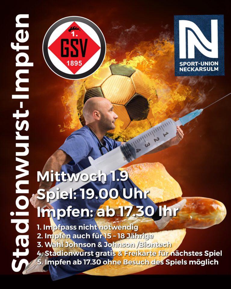 Stadionwurst-Impfen